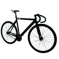 Zycle Fix ZFPRAL-MABK-51 Prime Alloy Track Bike, Black Matte & Black - Size 51