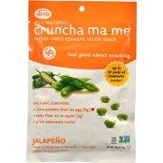 Eda-Zen Crunch Ma-me Freeze Dried Edamame Veggie Snack Jalapeno 0.7 Oz