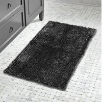 Product Image Lurex Noodle Bath Rug- Charcoal