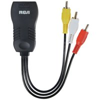 RCA DHCOMF HDMI to Composite Video Adapter