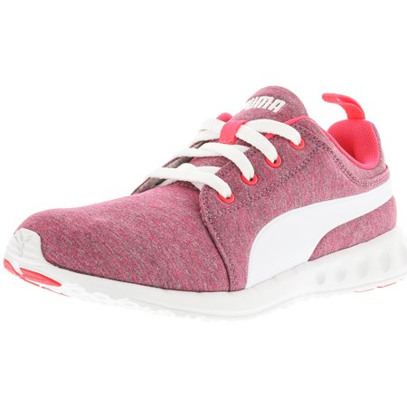 Puma Women s Carson Runner Heather Bright Plasma   White Ankle-High ... 716dee2fa