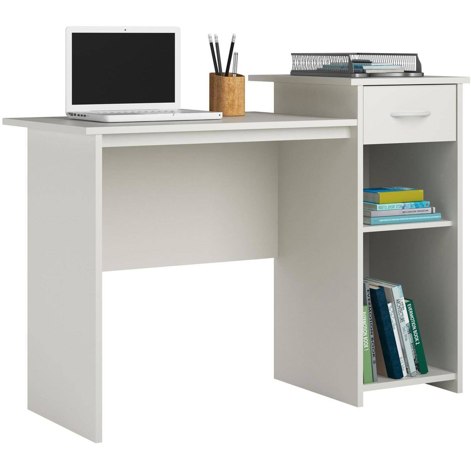home office desk white. Mainstays Student Desk With Easy-glide Drawer, Multiple Finishes -  Walmart.com Home Office Desk White F