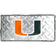 Miami Diamond Embossed License Plate