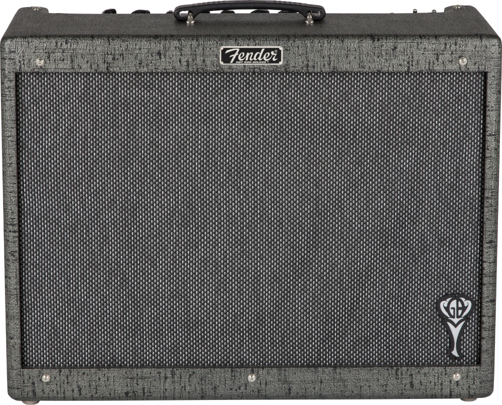 Fender George Benson Hot Rod Deluxe 40W Tube Guitar Combo Amp Black by Fender