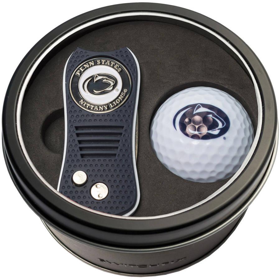 Team Golf NCAA Tin Gift Set with Switchfix Divot Tool and Golf Ball