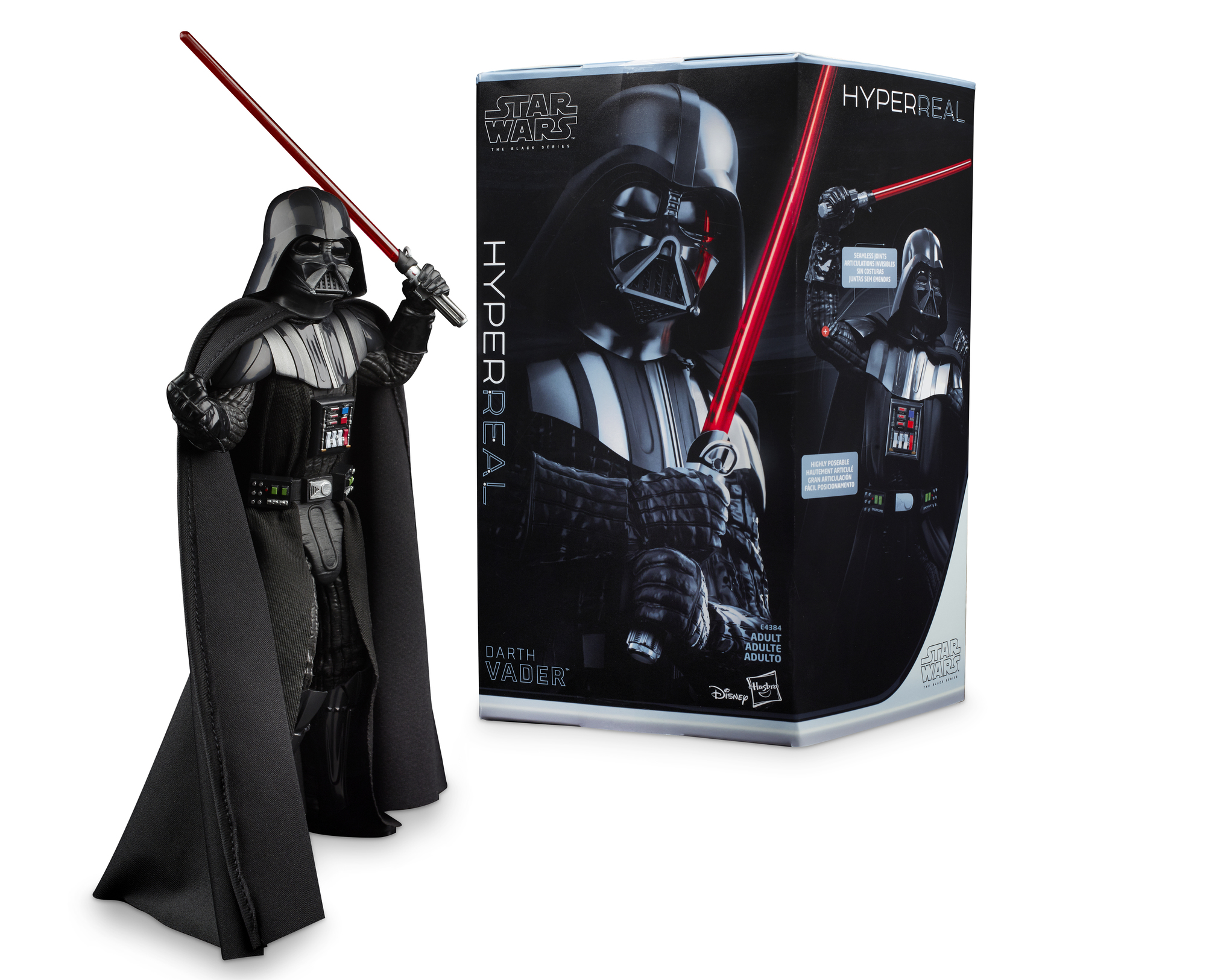Star Wars The Black Series Hyperreal Episode V The Empire Strikes Back 8-Inch-Scale Darth Vader Action Figure... by Hasbro Inc.