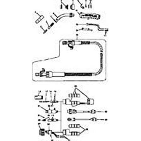 Tweco Arcair 94r 4 Mig Gun Trigger Switch Assembly