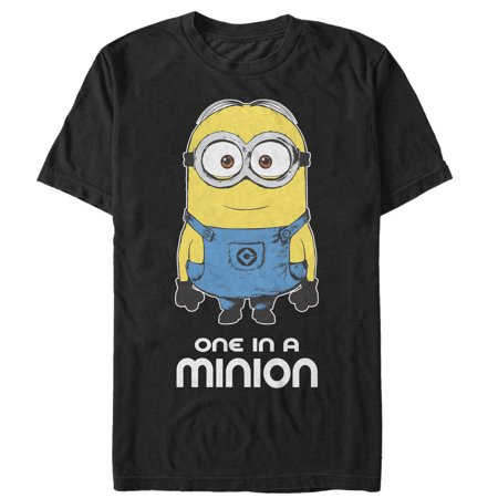 Despicable Me Men's One in Minion T-Shirt - One In A Minion Shirt
