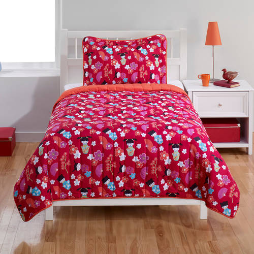 Swirls Bedding Quilt Set