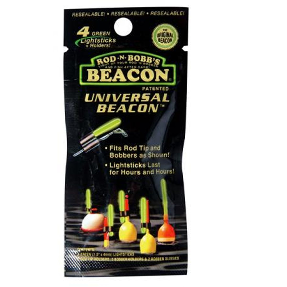 Universal Beacon Lightstick for Night Fishing Refills, Green..., By Rod-N-Bob's Ship from US by