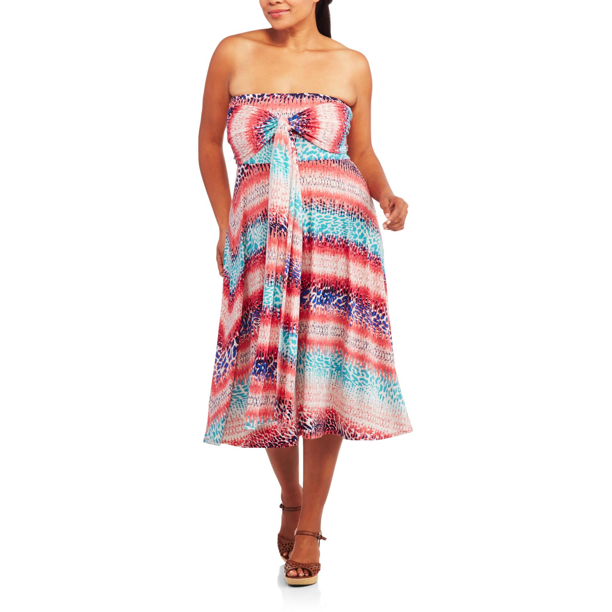 Concepts Women's Plus-Size 8-in-1 Convertible Wrap Dress