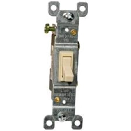 Morris Products 82010 Toggle Switch Ivory Single Pole 15A-120 - 277V
