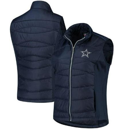 Dallas Cowboys Women's  Wing Back Full-Zip - Vest Cowboy