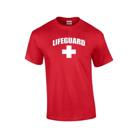 6145c1b55b1 Trenz Shirt Company - Lifeguard T-shirt Life Guard Cross - Walmart.com