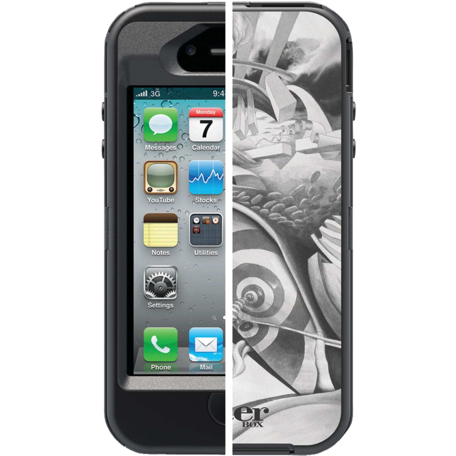 OTTERBOX 77-20433 iPhone(R) 4/4S Defender Series(R) Studio Collection Surreal Set (Dream)