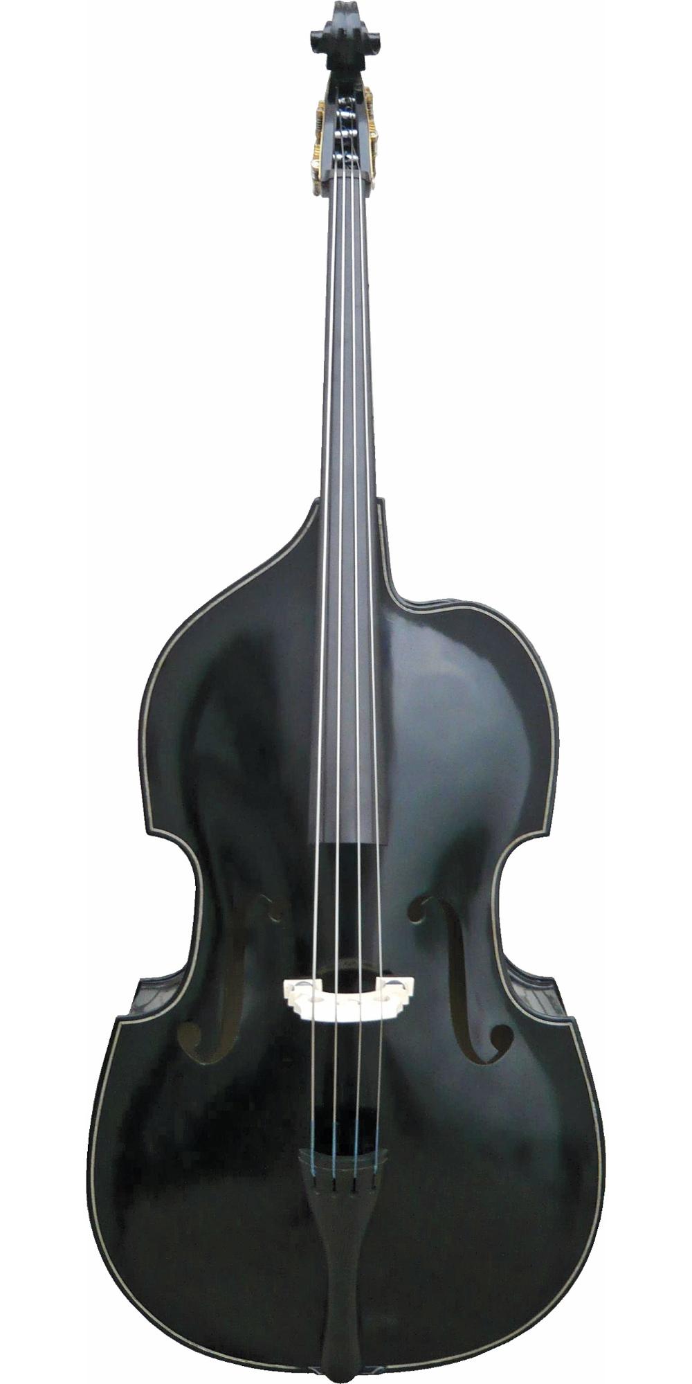 Palatino Billy Bass 3 4-Size Upright Bass Black by Palatino