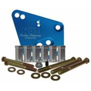 KRC Power Steering KRC 31620000 Aluminum Head Mount Power Steering Bracket Kit for Ford 351 & 400 Tall Deck Block