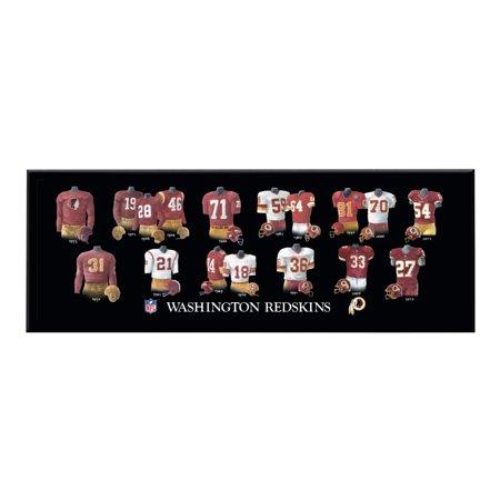 - Winning Streak - NFL Uniform Plaque, Washington Redskins