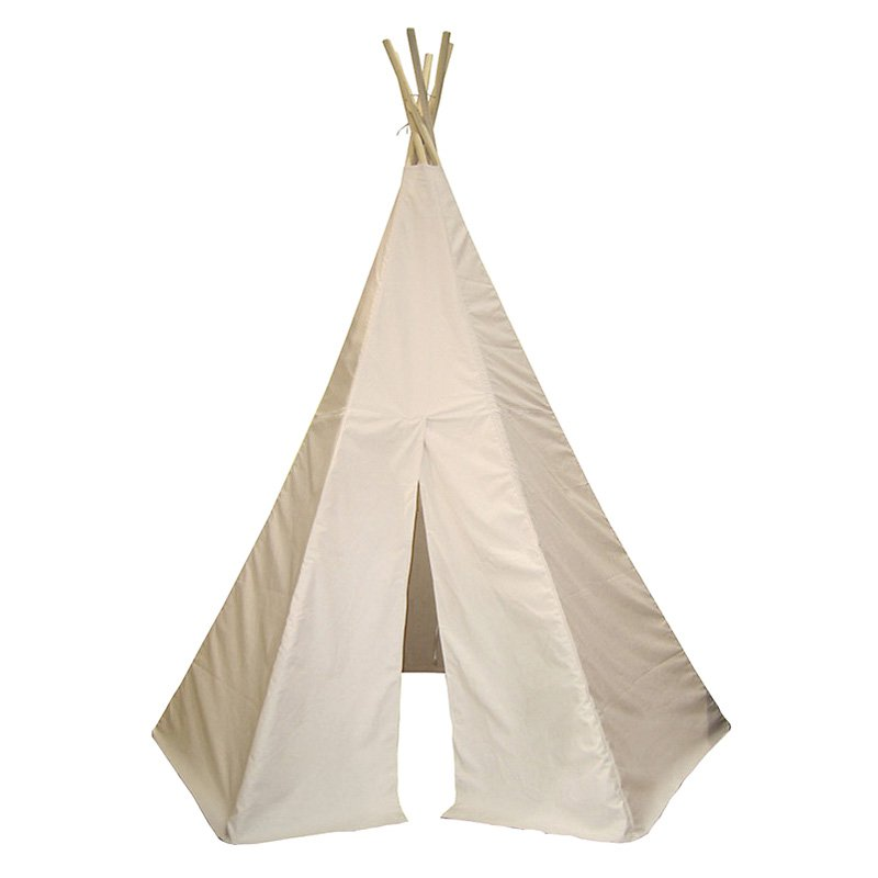 Dexton Kids DX1006 6' Great Plains Teepee in Natural DX1006