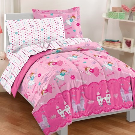 Dream Factory Magical Princess Complete Bed In A Bag Bedding Set