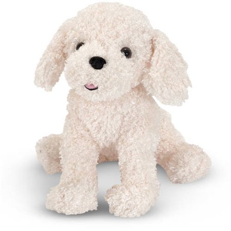 Melissa & Doug Fluffy Bichon Frise - Stuffed Animal Dog