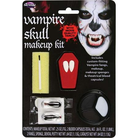 Vampire Skull Makeup Kit](Makeup Tutorial Halloween Vampire)