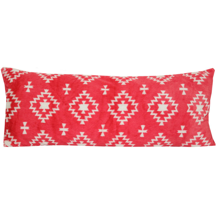 Your Zone Coral Aztec Pillow