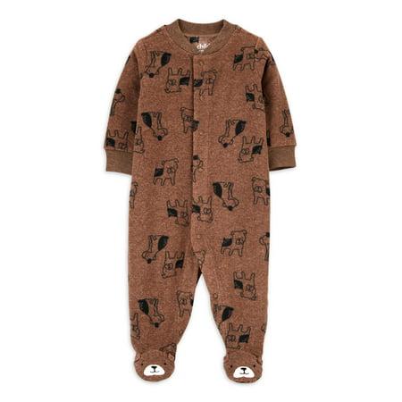 Child of Mine by Carter's Baby Boys' Bear Fleece Sleep N Play