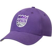 Men's Purple Sacramento Kings Mass Basic Adjustable Hat - OSFA