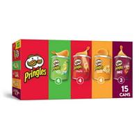 Pringles, Potato Crisps Chips, Flavored Variety Pack, 20.6 Oz, 15 Ct