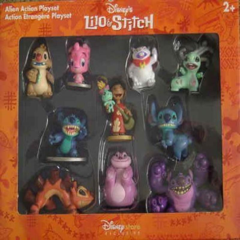 Lilo & Stitch Alien Action Playset by