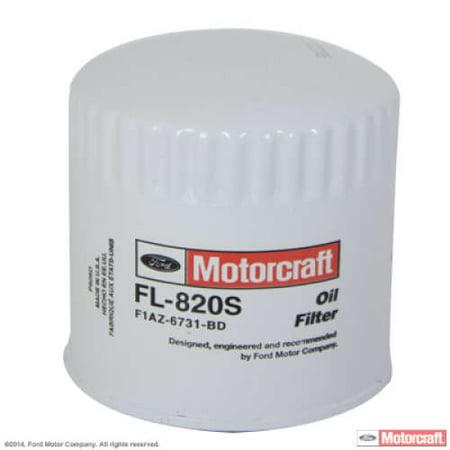 MotorCraft Oil Filter, FL820S (Best Auto Oil Filters)
