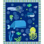 Deep Sea Fusible Applique Quilt Kit-