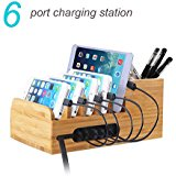 Lottogo Charging Station with 6_port 40W USB Charger Desk...