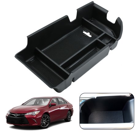 Car Center Console Organizer Armrest Tray For 18 Toyota Camry