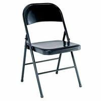 Mainstays Steel Black Folding Chair
