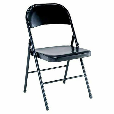Prime Mainstays Steel Black Folding Chair Cjindustries Chair Design For Home Cjindustriesco