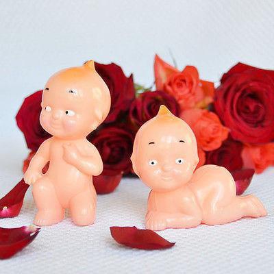Vintage Style Kewpie Dolls Cake Topper, Baby Shower Topper Favor, Cupid Babies Set of 2