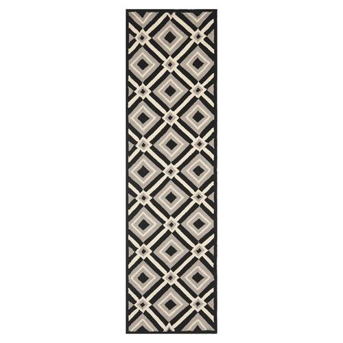 Safavieh Four Seasons Black/Grey Outdoor Area Rug
