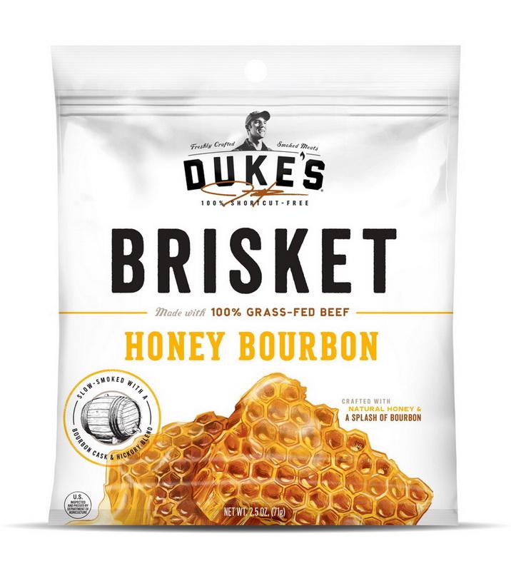 (Price/Pack)Duke's 33001 8-Ct/2.5oz Duke's Honey Bourbon Beef Steak Strips Case