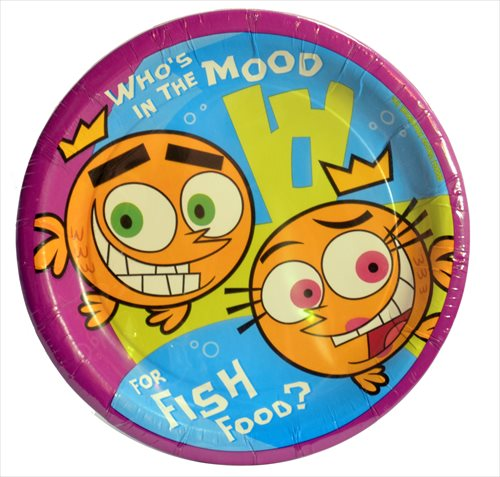 Fairly OddParents Small Paper Plates (8ct) by