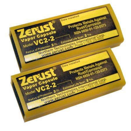 Zerust VC2-2 NoRust Vapor Capsule - Pack of - Vapor Capsule