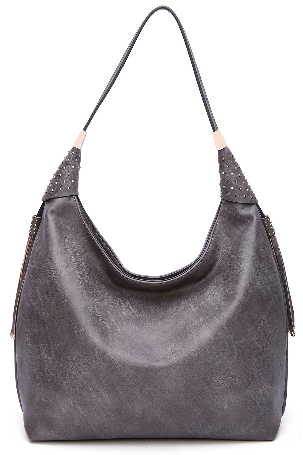 Alya Vegan Leather Fashion Hobo Bag