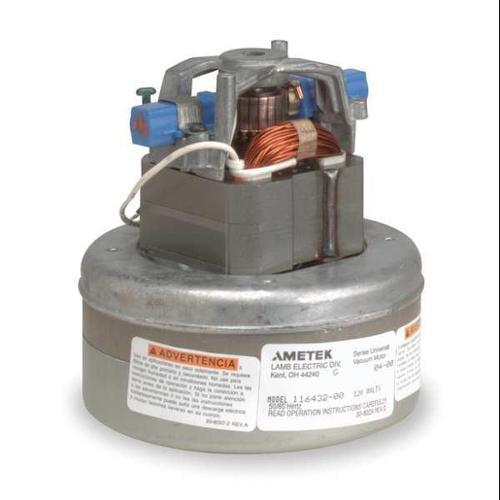 AMETEK LAMB 116846-00 Vacuum Mtr/Blwr, Thru-Flow, 2 Stge, 1 Spd