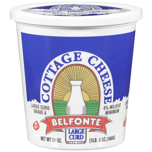 Belfonte Large Curd Cottage Cheese, 24 oz