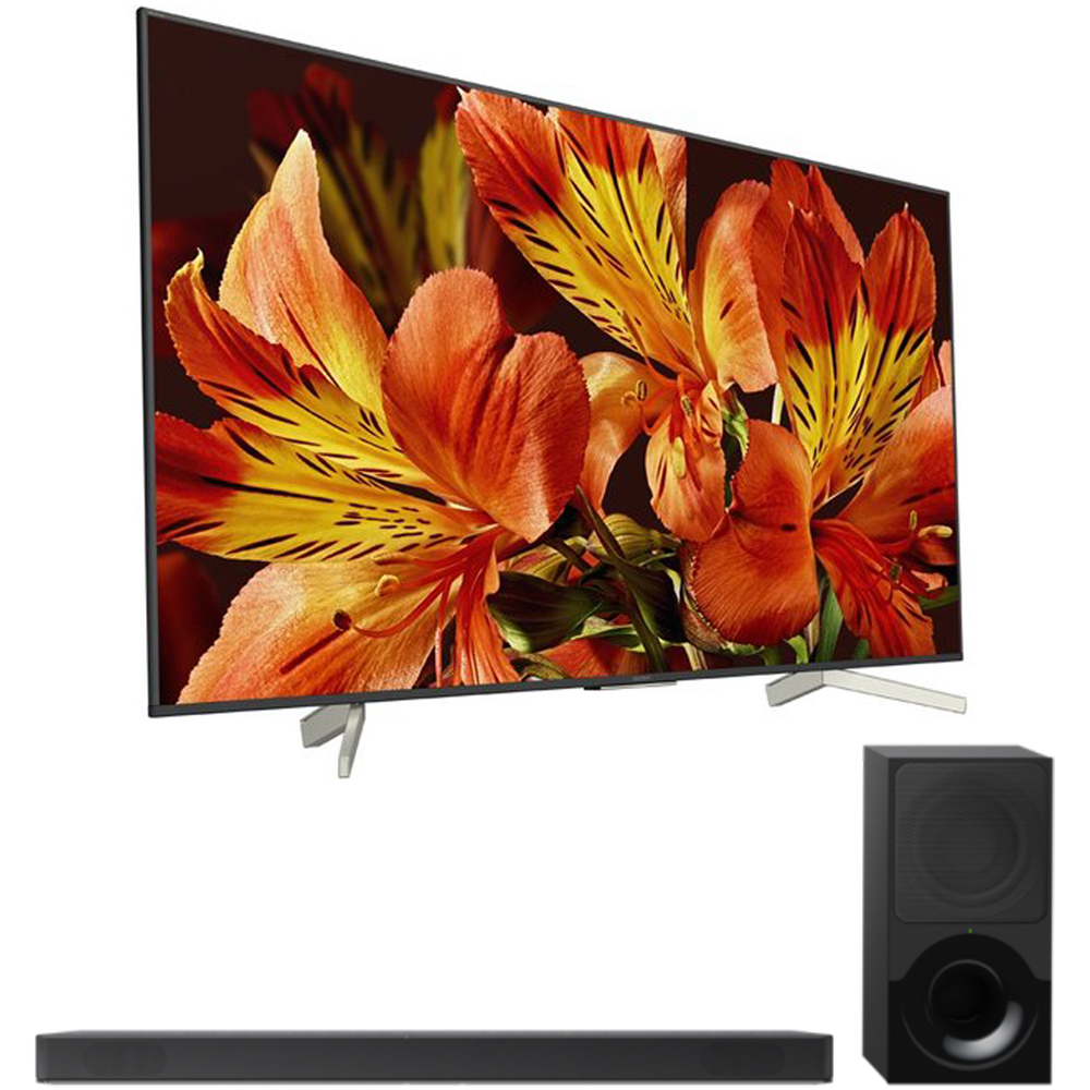 "Sony 75"" Class 4K Ultra HD (2160P) HDR Android Smart LED TV (XBR75X850F) with Sony 2.1ch Soundbar with Dolby Atmos"