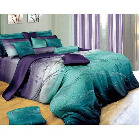 - Swanson Beddings Twilight-P 3-Piece Bedding Set: Duvet Cover and Two Pillow Shams