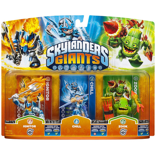 Skylanders Giants: Triple Pack #2 (Chill, Zook, Ignitor - Universal)