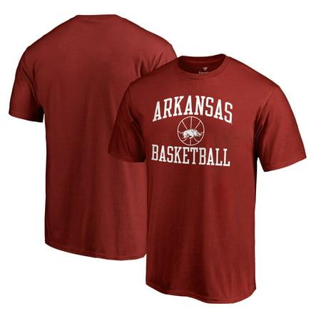 huge discount 21f32 0c6fa Arkansas Razorbacks Fanatics Branded Big & Tall In Bounds T-Shirt - Cardinal
