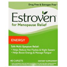 Vitamins & Supplements: Estroven Menopause Relief + Energy